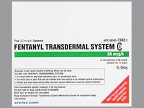 fentanyl 50 mcg/hr transdermal patch