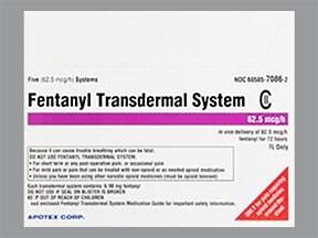 fentanyl 62.5 mcg/hour transdermal patch