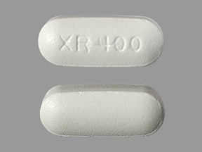 Seroquel XR 400 mg tablet,extended release