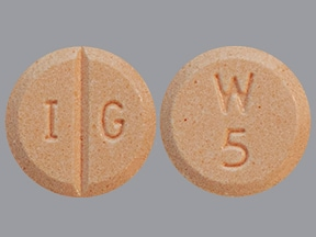 warfarin 5 mg tablet