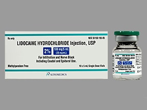 lidocaine (PF) 20 mg/mL (2 %) injection solution
