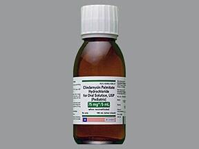 Clindamycin Pediatric 75 mg/5 mL oral solution