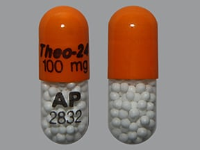 Theo-24 100 mg capsule,extended release