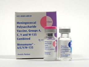 Menomune - A/C/Y/W-135 (PF) 50 mcg subcutaneous solution
