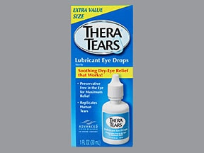 TheraTears 0.25 % eye drops