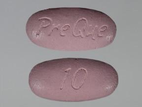 PreQue 10 15 mg iron-0.5 mg-25 mg tablet