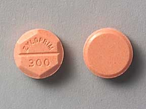Zyloprim 300 mg tablet