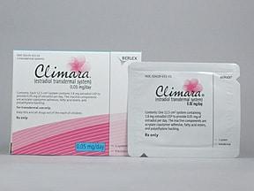 Climara 0.05 mg/24 hr transdermal patch