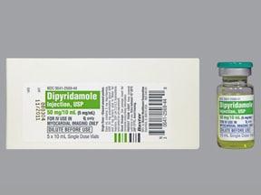 dipyridamole 5 mg/mL intravenous solution