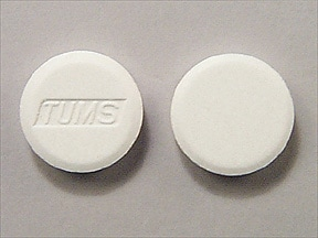 Tums 200 mg calcium (500 mg) chewable tablet