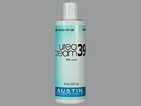 urea 39 % topical cream