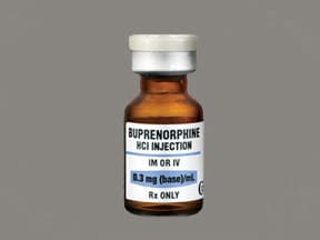 buprenorphine HCl 0.3 mg/mL injection solution