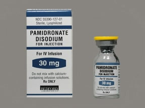 pamidronate 30 mg intravenous solution