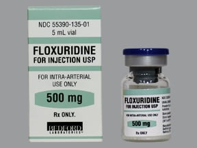 floxuridine 0.5 gram solution for injection