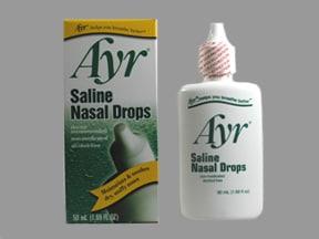 Ayr Saline 0.65 % nasal drops