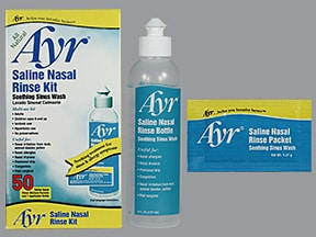 Ayr Sinus Rinse with packet