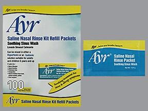 Ayr Sinus Rinse Refill packet