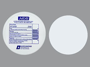 A.E.R. Witch Hazel 12.5 %-50 % topical pads