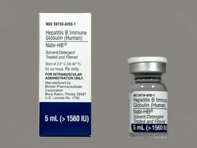 Nabi-HB greater than 1,560 unit/5 mL intramuscular solution