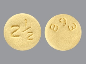 Eliquis 2.5 mg tablet