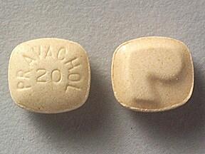 Pravachol 20 mg tablet