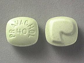 Pravachol 40 mg tablet