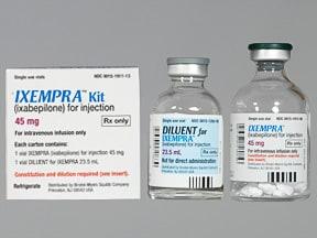 Ixempra 45 mg intravenous solution