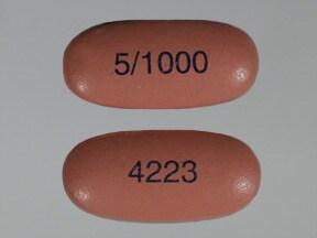 Kombiglyze XR 5 mg-1,000 mg tablet,extended release