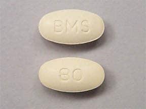 Pravachol 80 mg tablet
