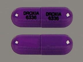Droxia 300 mg capsule