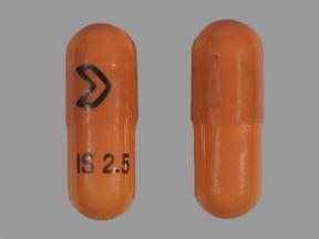 isradipine 2.5 mg capsule