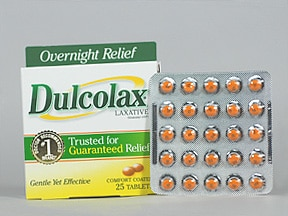 Dulcolax (bisacodyl) 5 mg tablet,delayed release