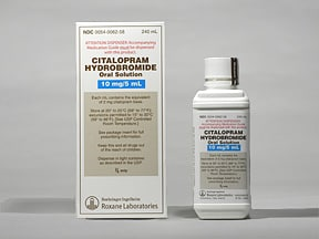 citalopram 10 mg/5 mL oral solution