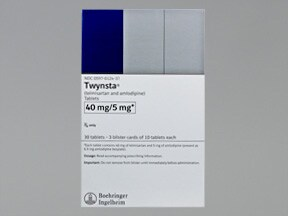 Twynsta 40 mg-5 mg tablet