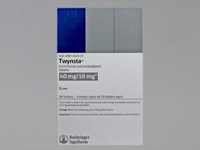 Twynsta 40 mg-10 mg tablet