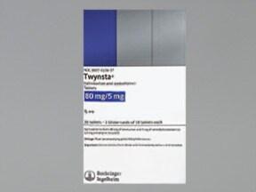 Twynsta 80 mg-5 mg tablet