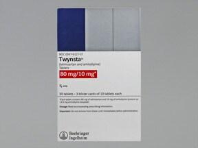 Twynsta 80 mg-10 mg tablet