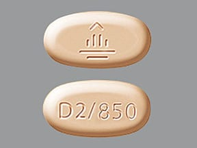 Jentadueto 2.5 mg-850 mg tablet