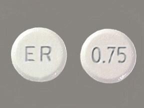 Mirapex ER 0.75 mg tablet,extended release