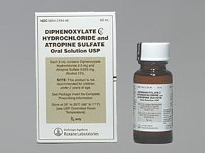 diphenoxylate-atropine 2.5 mg-0.025 mg/5 mL oral liquid