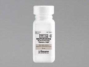 meperidine 100 mg tablet
