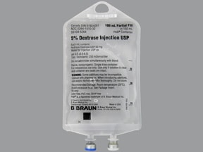 dextrose 5 % in water (D5W) intravenous solution