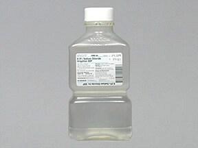 sodium chloride 0.9 % irrigation solution