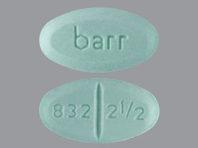warfarin 2.5 mg tablet