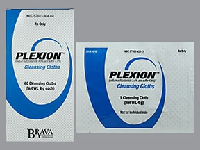 Plexion Cleansing Cloths 9.8 %-4.8 %