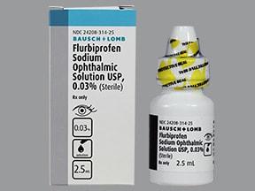flurbiprofen 0.03 % eye drops