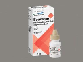 Besivance 0.6 % eye drops,suspension