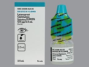 latanoprost 0.005 % eye drops