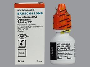 dorzolamide 2 % eye drops