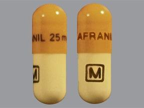 Anafranil 25 mg capsule